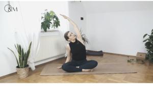 Rückenübungen Mobilisation Lilly Rugg Yoga Pilates Osteopathie Münster