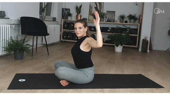 Yogaübungen gegen Schulterverspannungen